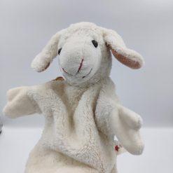 Lammet Lisa hånddukke
