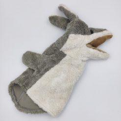 Ulven buster hånddukke
