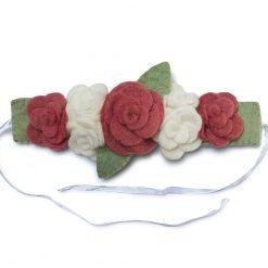 Hårbånd roser