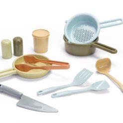 Køkkensæt i bioplast