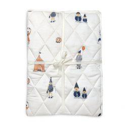 Quiltet tæppe med klovn