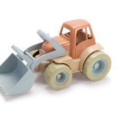 Traktor med grab