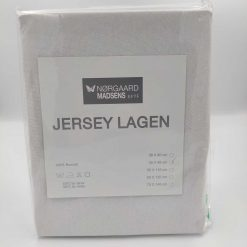 hvidt jersey lagen 40x98 cm