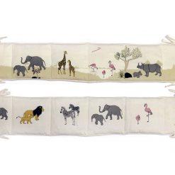 Gamcha stofbog med safaridyr