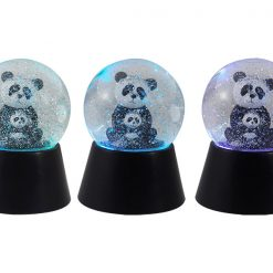 Snekugle med panda