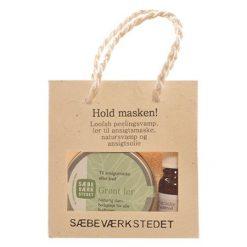 Gavepose grønt ler