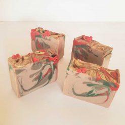Sæbebar med julegløgg og brunkageduft