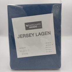 blå jersey lagen 40x98 cm