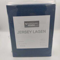 blåt jersey lagen 70x140 cm