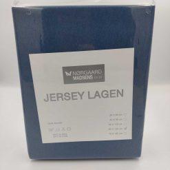 Jersey lagen blå 60x120