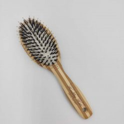Olivia Garden healthy hair ionic combo paddle børste i bambus