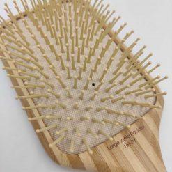 Olivia Garden healthy hair ionic paddle børste i bambus