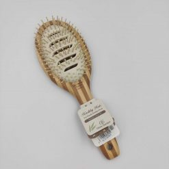 Olivia Garden healthy hair ionic vented paddle børste i bambus
