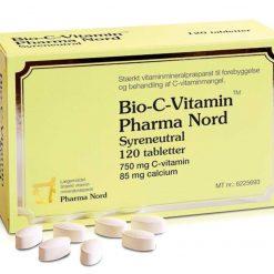 Bio-C-vitamin fra Pharma Nord 120 stk.