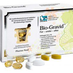 Bio-Gravid fra Pharma Nord 3x60 stk.
