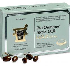 Bio-Quinone Q10 GOLD fra Pharma Nord 90 stk.