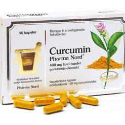 Curcumin fra Pharma Nord 50 stk.