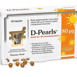 D-pearls fra Pharma Nord 80 µg