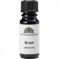 Brun slikfarve fra Urtegaarden