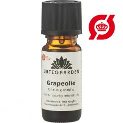 Grapeolie æterisk olie øko fra urtegaarden