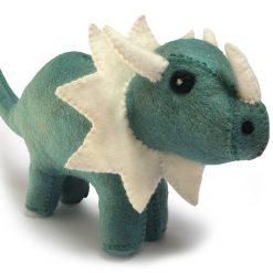 Sej dinosaur i grøn