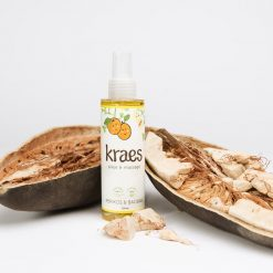 KRAES pleje & massageolie m/abrikos & baobab