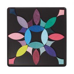 Magnetpuslespil med cirkler fra Grimms