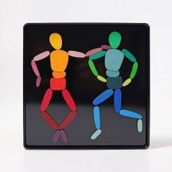Magnetpuslespil i bevægelse