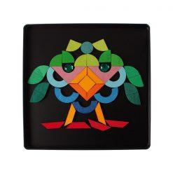 Magnetpuslespil triang fra Grimms