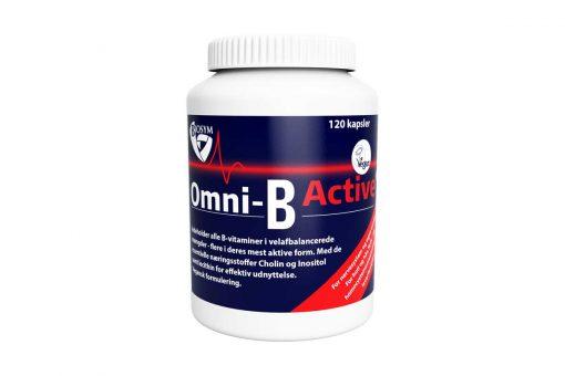 Omni-B Active fra Biosym 120 stk.