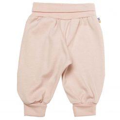 Joha basis bukser i øko bomuld lyserød