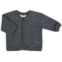 Cardigan fra Joha i ren merinould mørkegrå