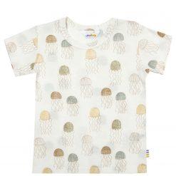 T-shirt fra Joha med print med gopler/vandmænd
