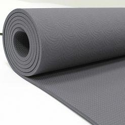 Yoga måtte Grå