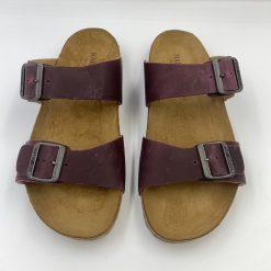 Bio andrea sandaler i bordeaux fra Haflinger
