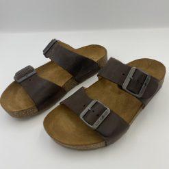 Bio andrea sandaler brun