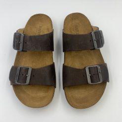 Bio andrea sandaler i brun fra Haflinger