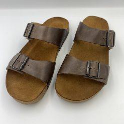 Bio andrea sandaler mørkebrun