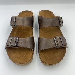 Bio andrea sandaler i mørkebrun fra Haflinger