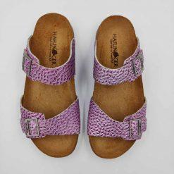 Bio Andrea sandaler fra haflinger i pink