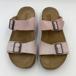 Bio sandaler andrea i rosa fra Haflinger