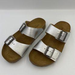 Bio andrea sandaler sølv