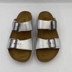 Bio sandaler andrea i sølv fra Haflinger
