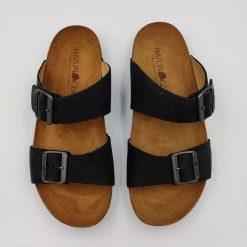 Bio andrea sandaler i sort fra Haflinger