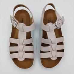 Bio Anni sandaler fra haflinger i lyserød