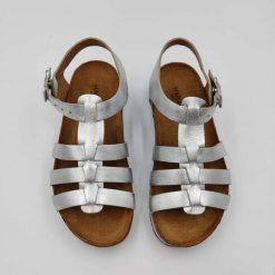 Bio Anni sandaler fra haflinger i sølv