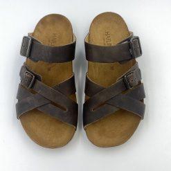 Bio charles sandaler i brun fra Haflinger