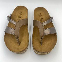 Bio clara sandaler i bronze fra Haflinger