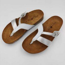 Bio clara sandaler sølv
