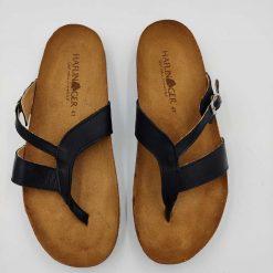 Bio clara sandaler i sort fra Haflinger